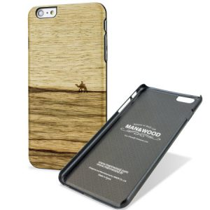 Man en Wood iPhone 6/6S Plus Back Case Hout Terra
