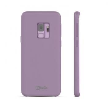 Samsung Galaxy S9 Liquid Cilicone case Paars