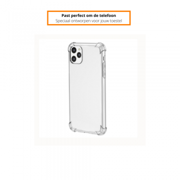 Apple iPhone 11/12 Pro Schokbestendige Hoes Transparant
