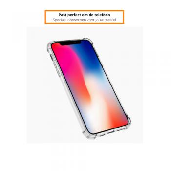 Apple iPhone X/XS Schokbestendige Hoes Transparant