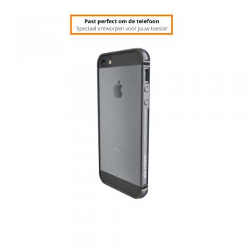 Apple iPhone 5/5S/SE 2016 Bumper Hoesje Zilver