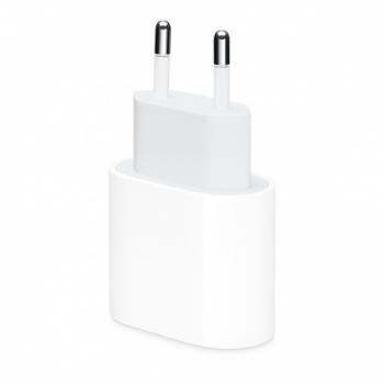 Snellaad adapter voor Apple iPhone USB-C 18W Wit